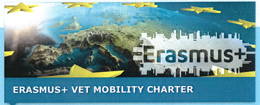 Programm ERASMUS+ die Mobilitätscharta für Berufsbildung