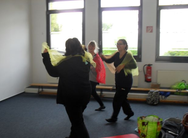 Tanz beim Musikprojekt Wahlpflichtwoche