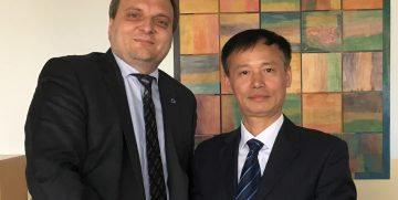 unterzeichnet: Kooperationsvereinbarung mit Chongqing