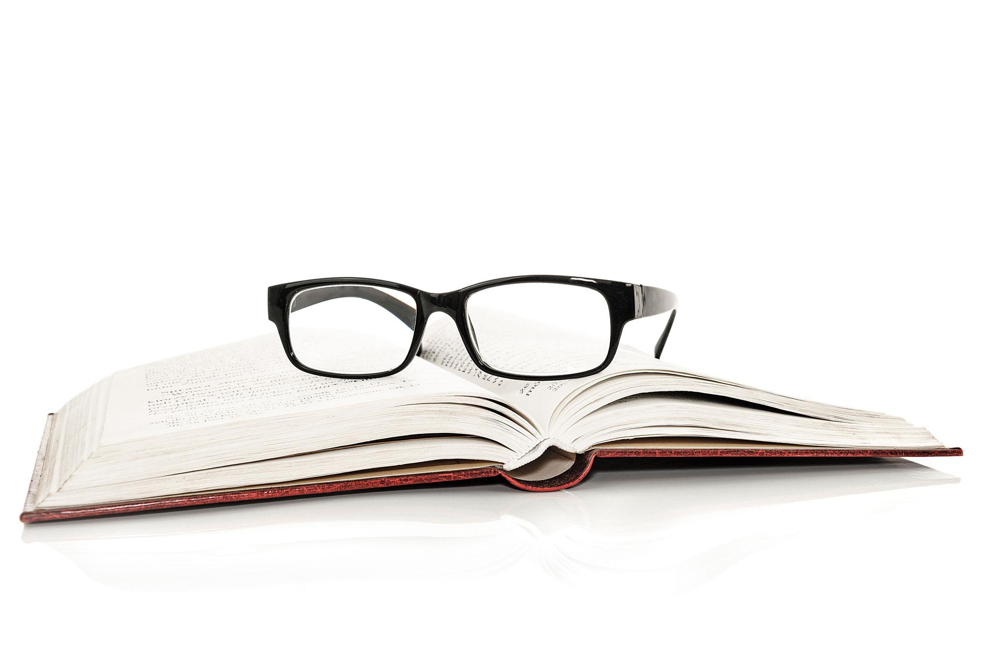 Bücher, Brille, lernen
