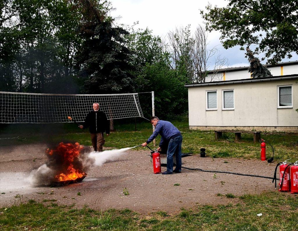 EBG Brandschutz Löschung